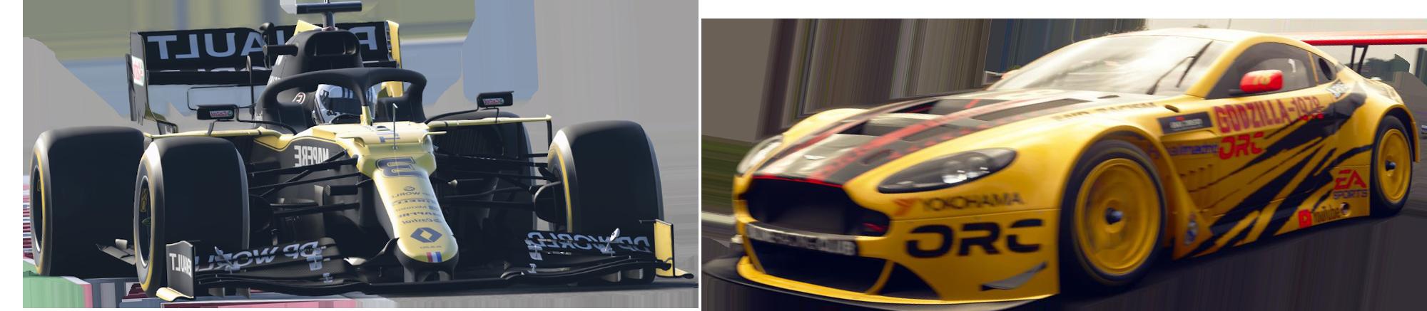 Admins des F1 2021 und Gran Turismo Sport Bereichs